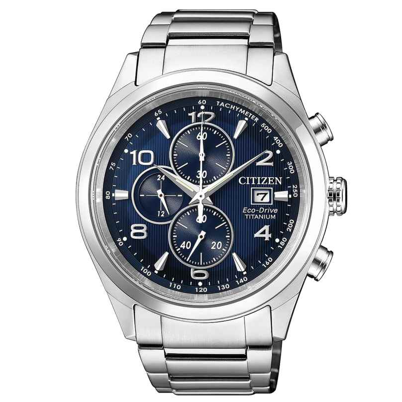 Citizen CA0650-82L Herrenuhr Chronograph Eco-Drive Super Titan 4974374268600