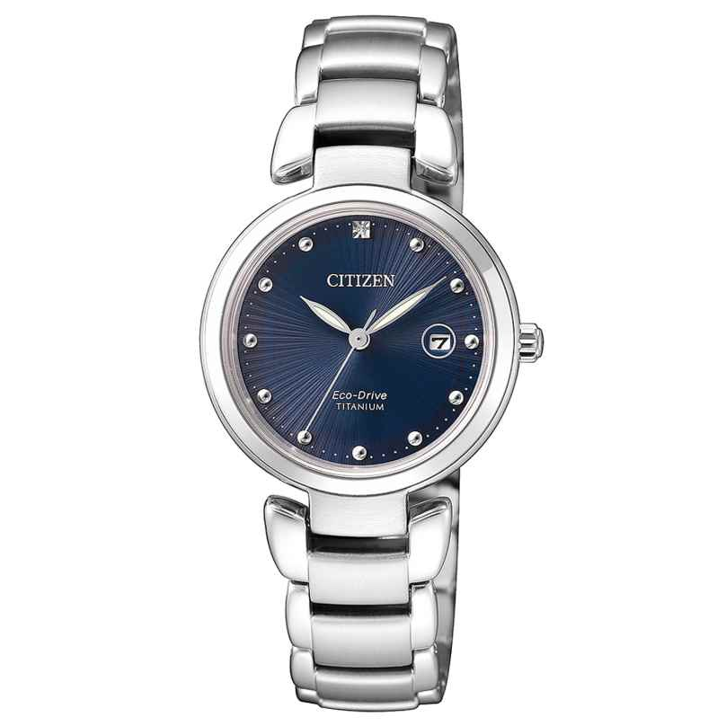 Citizen EW2500-88L Eco-Drive Damenuhr Titan 4974374271020