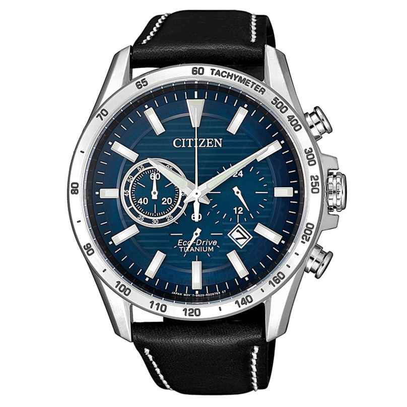 Citizen CA4440-16L Herrenuhr Eco-Drive Chronograph Titan 4974374288189