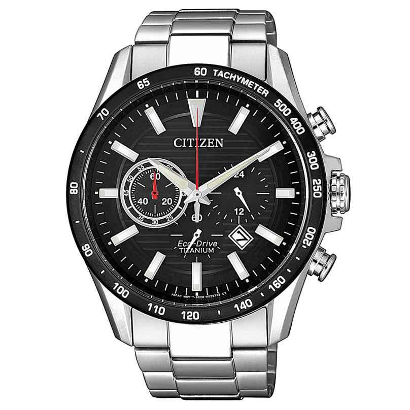 Citizen CA4444-82E Herrenuhr Eco-Drive Chronograph Titan 4974374288196