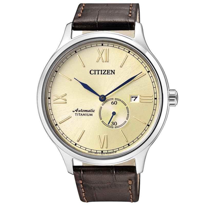 Citizen NJ0090-13P Automatik-Herrenuhr Titan 4974374271112