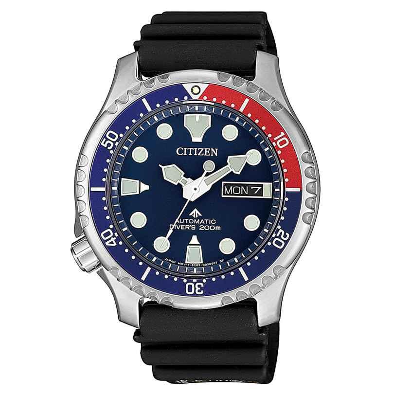 Citizen NY0086-16L Promaster Marine Automatik Taucheruhr 4974374288349