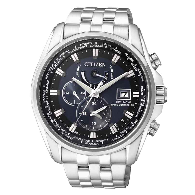 Citizen AT9030-55L Eco-Drive Radio-Controlled Mens Watch 4974374237828