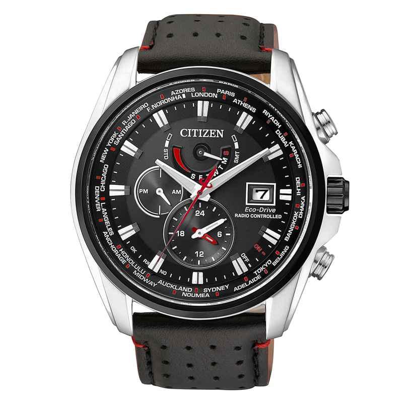 Citizen AT9036-08E Herren Solar-Funkuhr 4974374237866