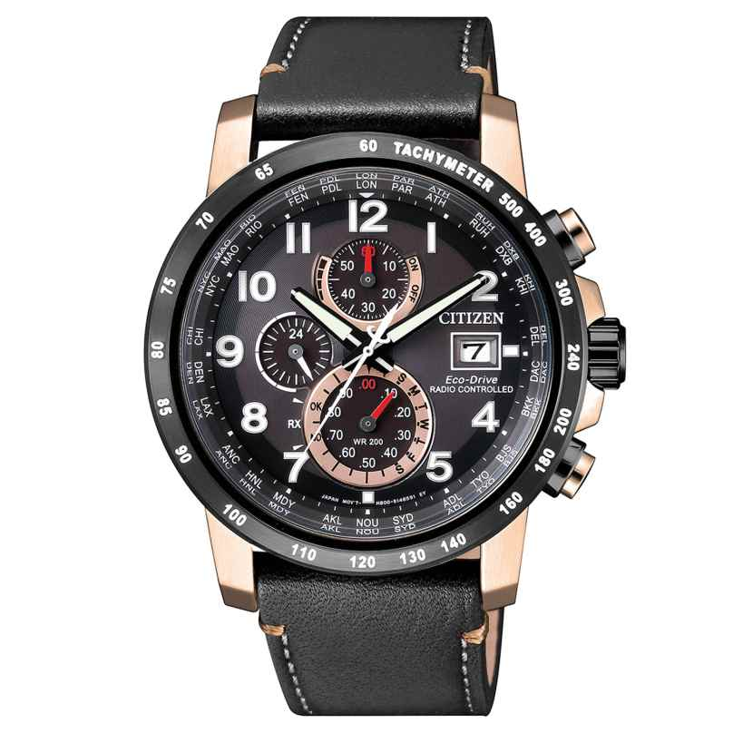 Citizen AT8126-02E Herren-Funkuhr Eco-Drive Chronograph 4974374262721