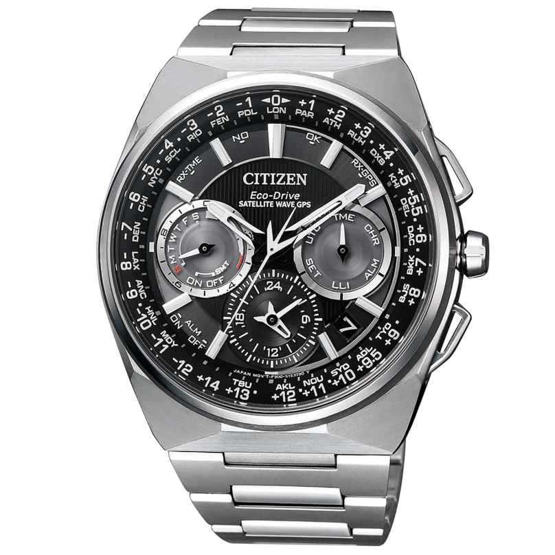 Citizen CC9008-84E Eco-Drive Satellite Wave Titanium Mens Watch 4974374269300