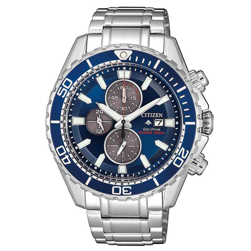 Citizen CA0710-82L Promaster Men's Watch Eco-Drive Diver's Chronograph 4974374278005