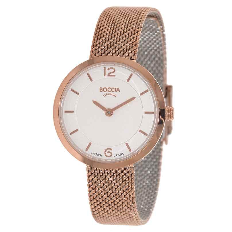 Boccia 3266-07 Titanium Damen-Armbanduhr 4040066240862