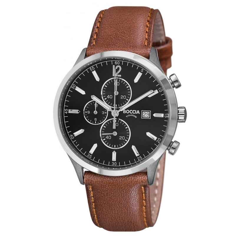 Boccia 3753-04 Titan Herren-Chronograph 4040066241128