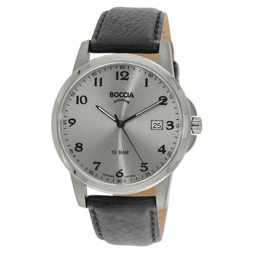 Boccia 3633-03 Titan Herren-Armbanduhr 4040066254562