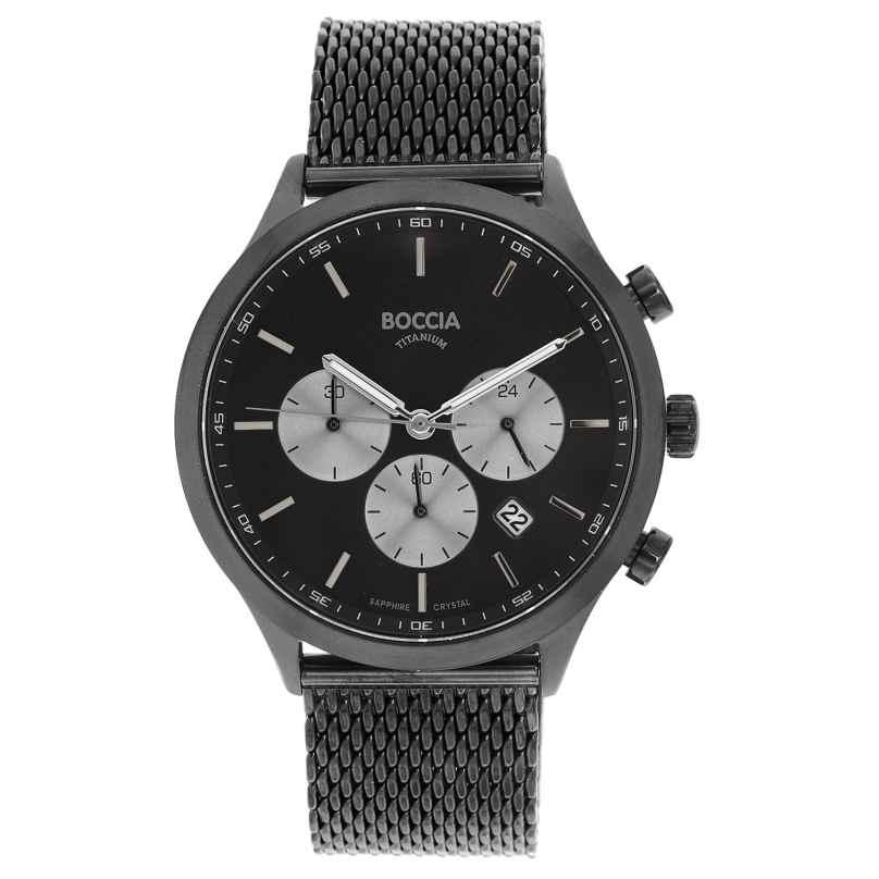 Boccia 3750-06 Herrenuhr Chronograph aus Titan 4040066254500
