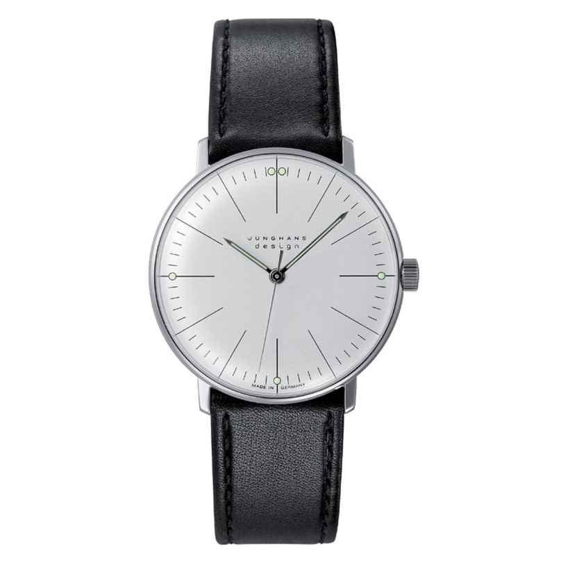 Junghans 027/3700.00 max bill Handaufzug Armbanduhr 4000897325480