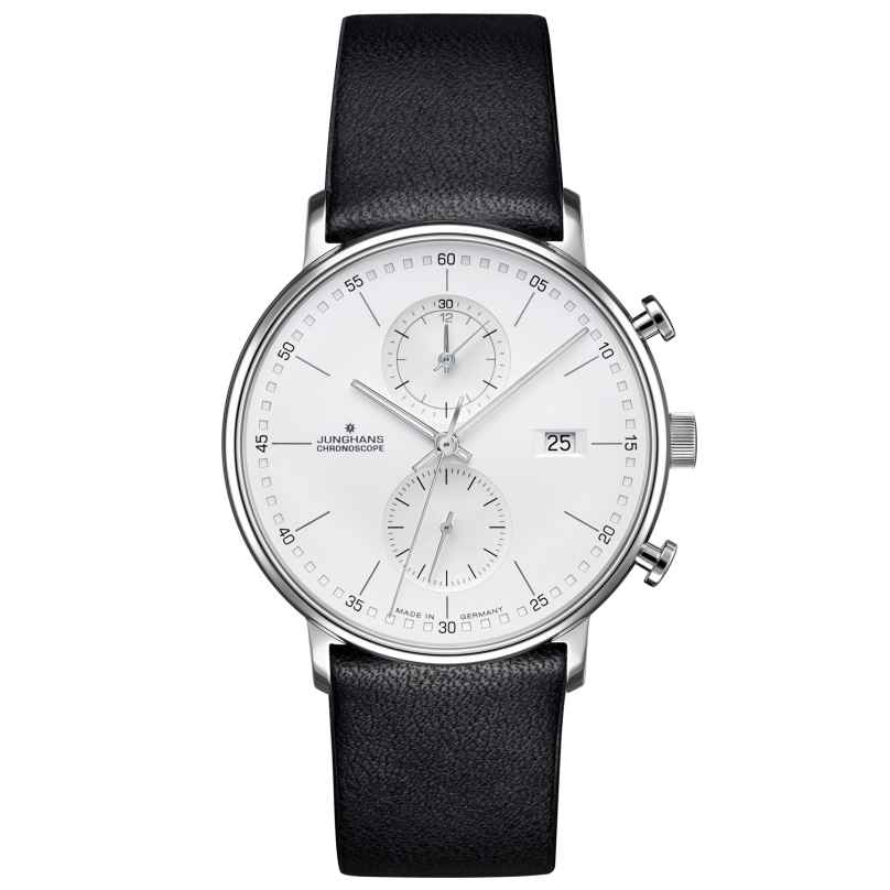 Junghans 041/4770.00 Herrenuhr Chronoscope Form C 4000897390709