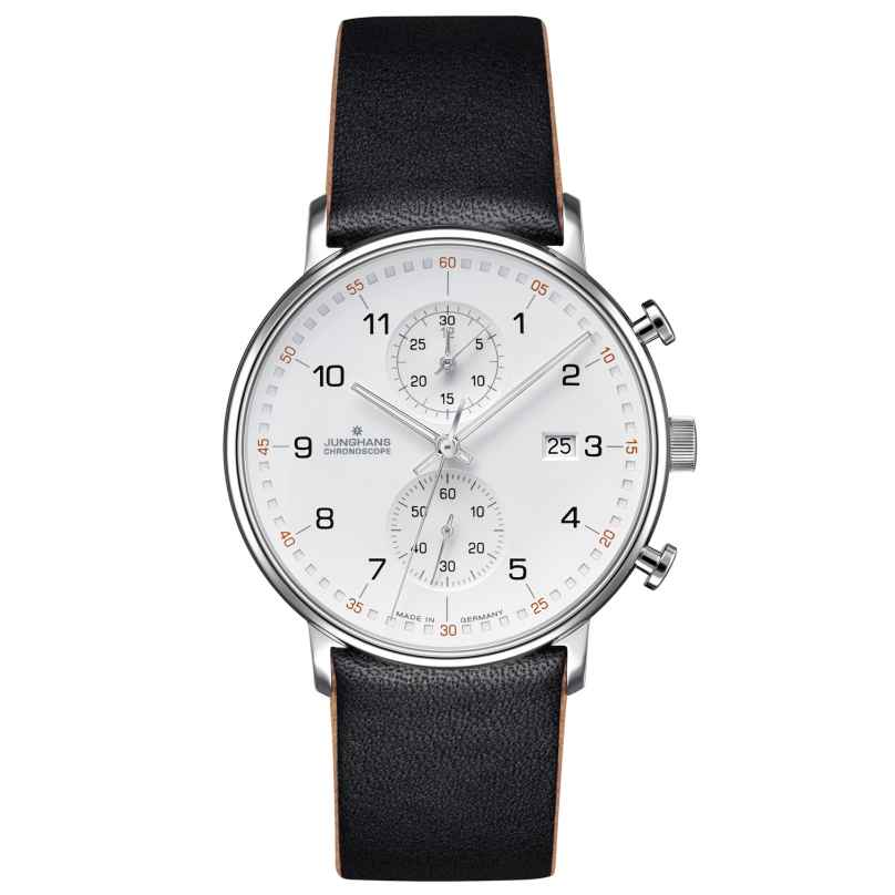 Junghans 041/4771.00 Herrenuhr Chronoscope Form C 4000897390716