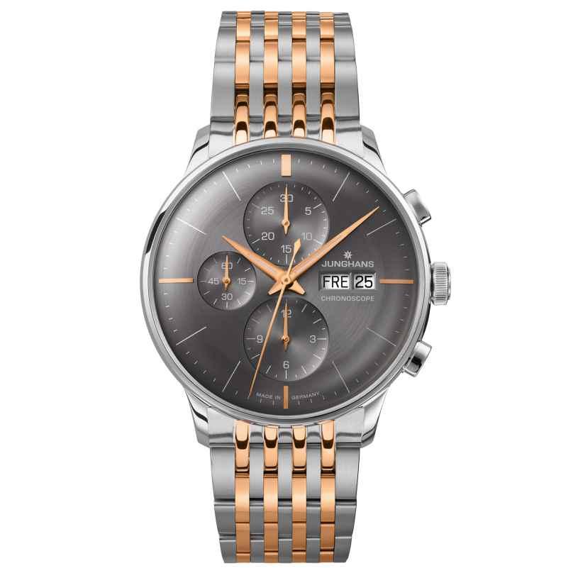 Junghans 027/4527.44 Meister Chronoscope Mens Watch 4000897390440