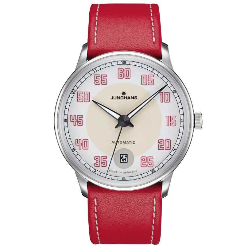 Junghans 027/4716.00 Damenuhr Meister Driver Automatic Rot 4000897390778