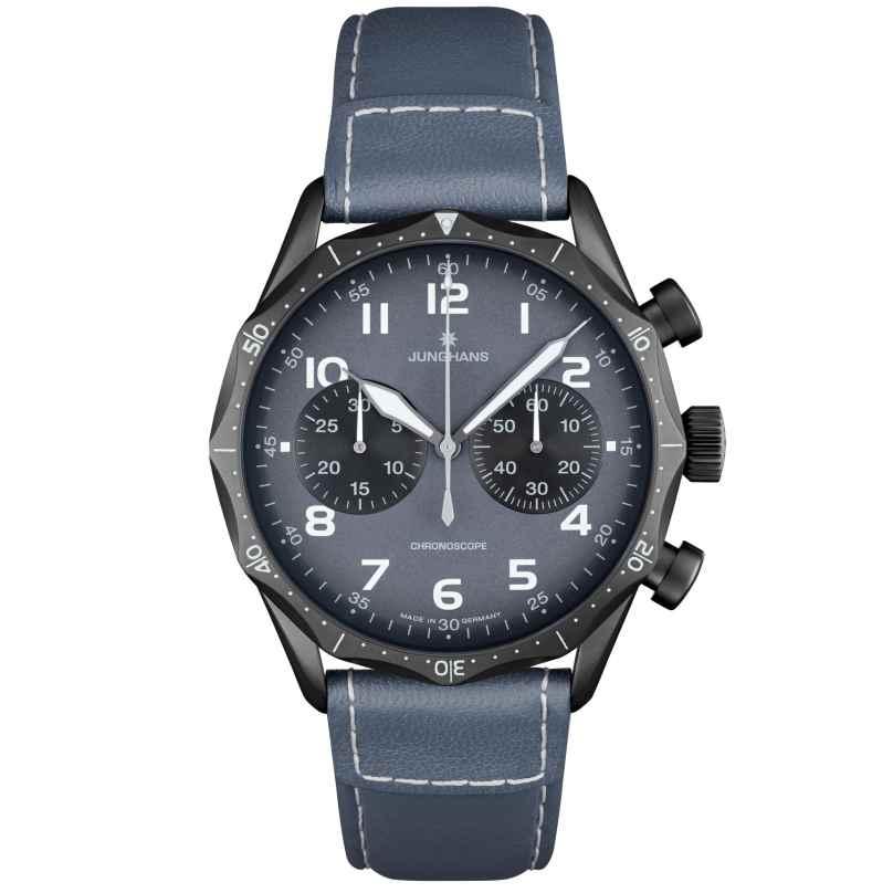 Junghans 027/3795.00 Meister Pilot Chronograph Fliegeruhr 4000897390839