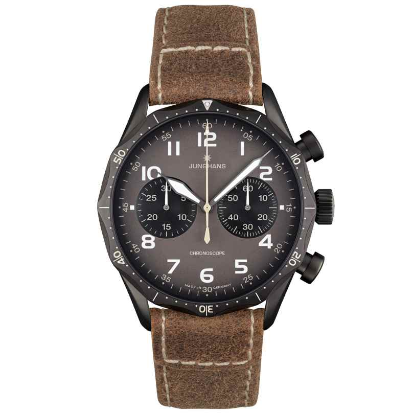 Junghans 027/3794.00 Meister Pilot Fliegeruhr Chronograph 4000897390822