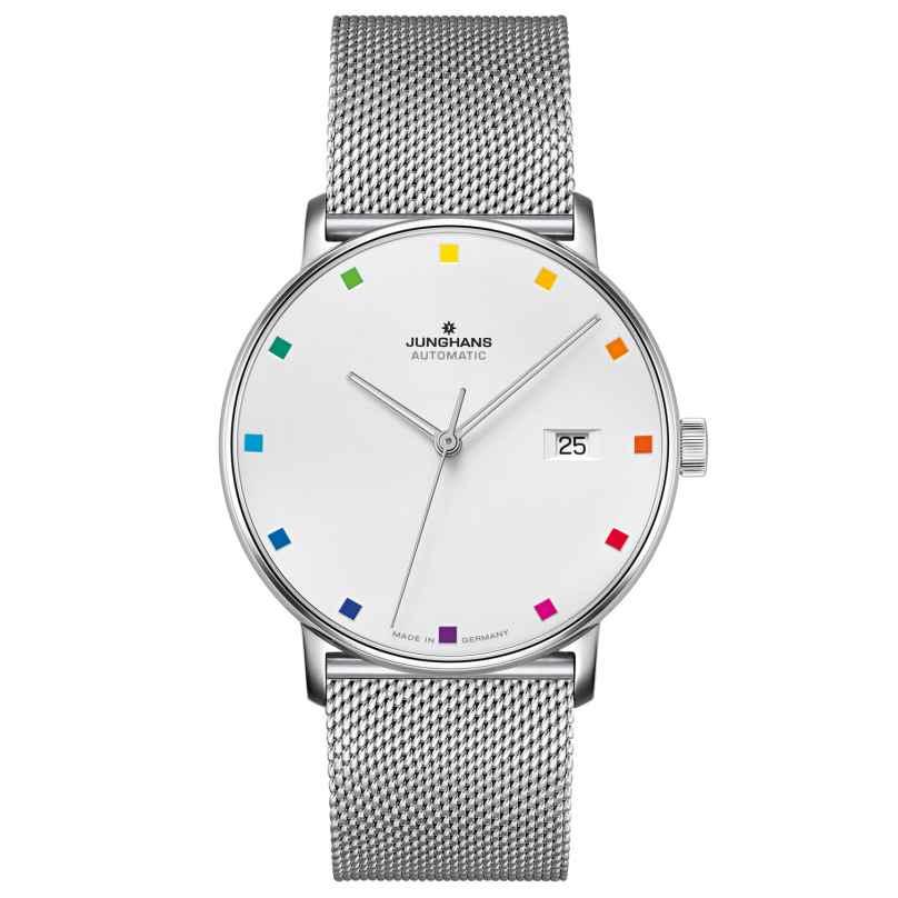 Junghans 027/4937.44 Automatik-Uhr Form A 100 Jahre Bauhaus 4000897391911