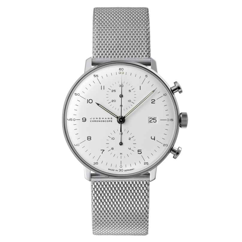 Junghans 027/4003.44 max bill Chronoscope Herrenuhr 4000897387266