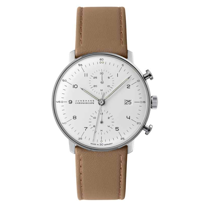 Junghans 027/4502.00 max bill Chronoscope Gents Watch 4000897390273