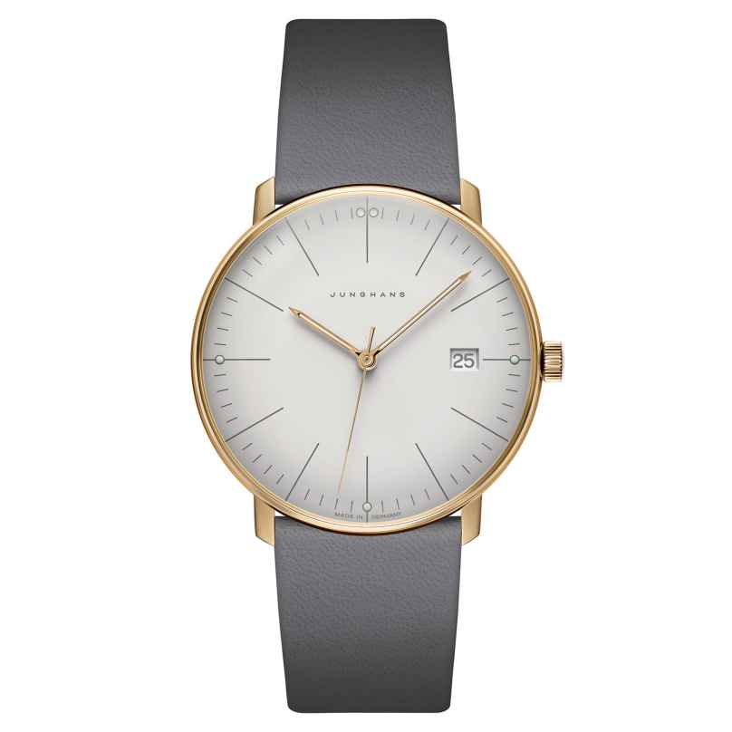 Junghans 041/7857.00 max bill Quarz Herrenuhr 4000897391348