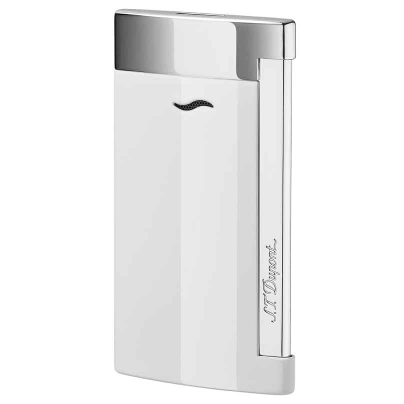 S.T. Dupont 027702 Lighter Slim 7 White 3597390218377