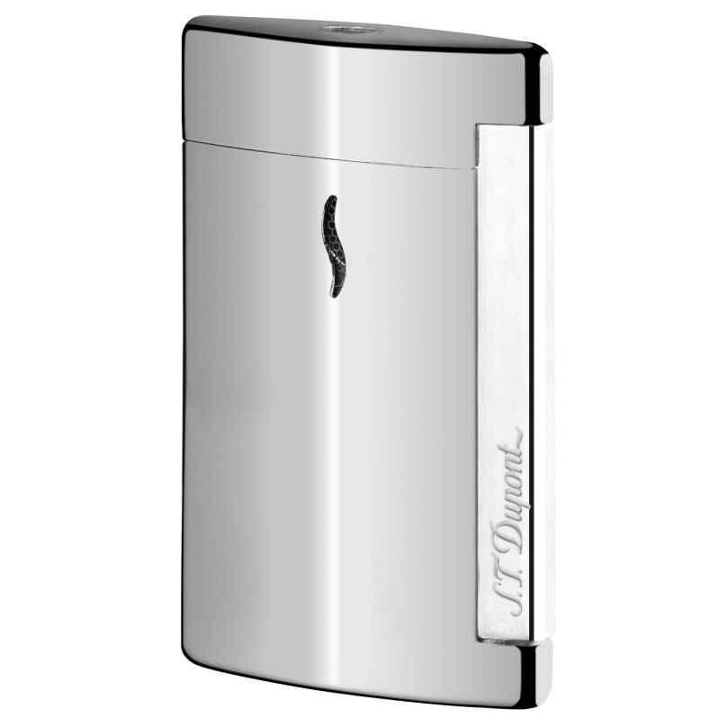 S.T. Dupont 010502 Minijet Feuerzeug Silber 3597390235237