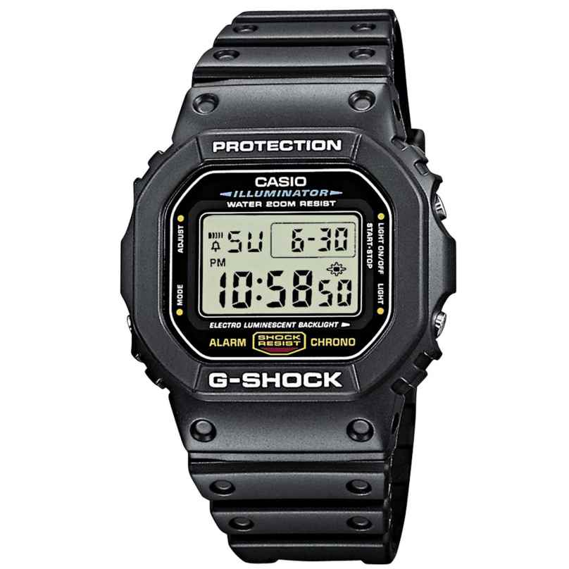 Casio DW-5600E-1VER G-Shock Digitaluhr Timecatcher 4971850856436