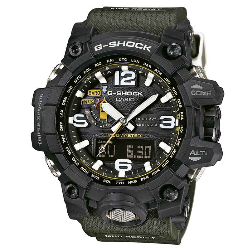 Casio GWG-1000-1A3ER G-Shock Mudmaster Armbanduhr 4971850028345
