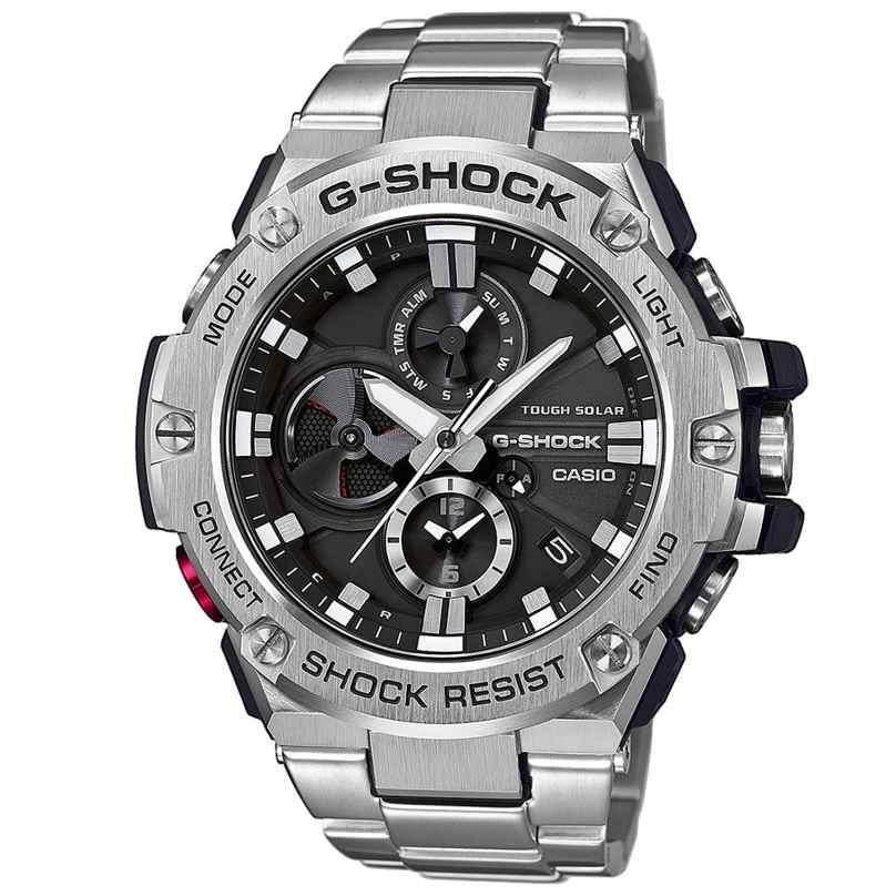 Casio GST-B100D-1AER G-Shock G-Steel Bluetooth Solar Herrenuhr 4549526168222