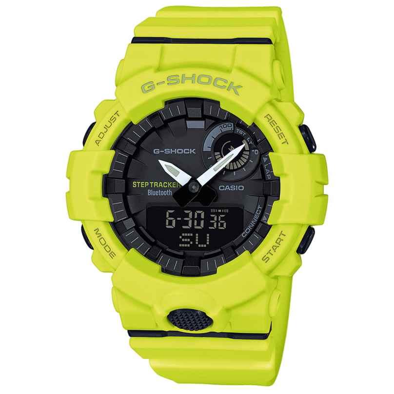 Casio GBA-800-9AER G-Shock Bluetooth Armbanduhr mit Schrittzähler 4549526179358