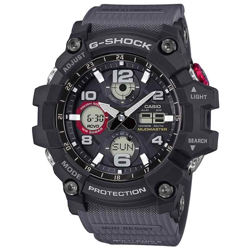 Casio GWG-100-1A8ER G-Shock Mudmaster Funk-Solar Armbanduhr 4549526176548