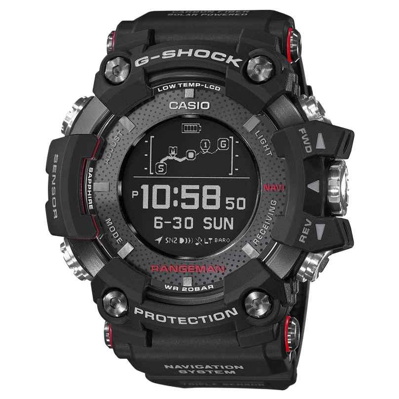 Casio GPR-B1000-1ER G-Shock Rangeman Herrenuhr Bluetooth GPS Navigation 4549526185816