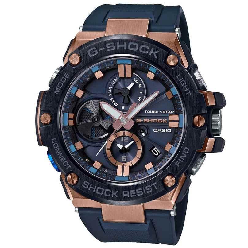 Casio GST-B100G-2AER G-Shock G-Steel Solar-Herrenuhr mit Bluetooth 4549526208638