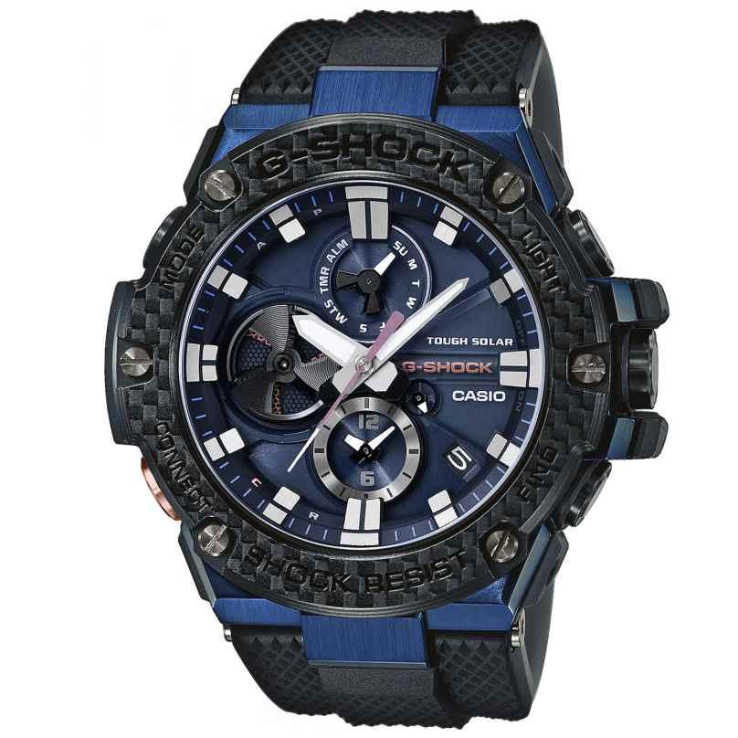 Casio GST-B100XB-2AER G-Shock G-Steel Solar-Herrenarmbanduhr mit Bluetooth 4549526208683