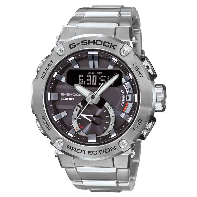 Casio GST-B200D-1AER G-Shock G-Steel Solar-Herrenarmbanduhr mit Bluetooth 4549526223068
