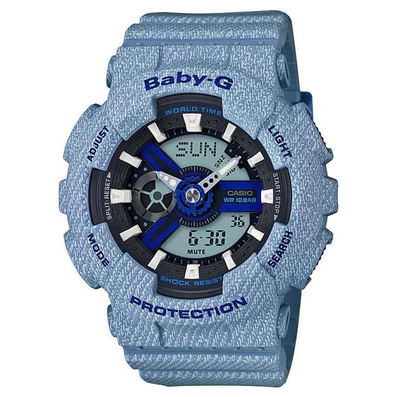 Casio BA-110DE-2A2ER Baby-G Ladies Watch AnaDigi 4549526162510