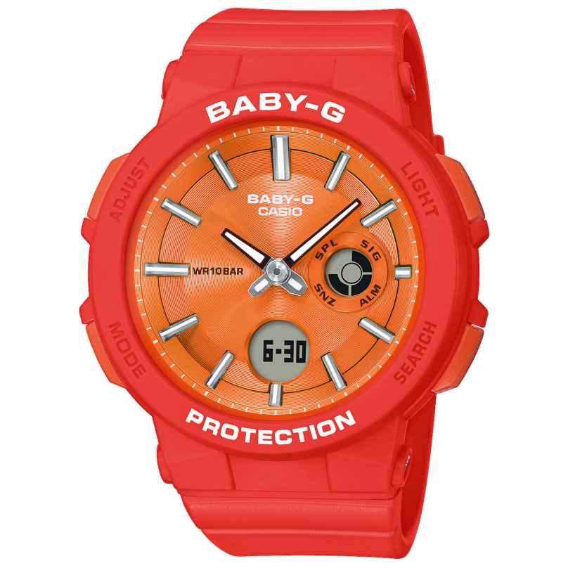 Casio BGA-255-4AER Baby-G Damen-Armbanduhr 4549526209666