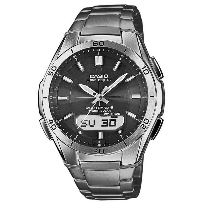 Casio WVA-M640TD-1AER Titan Solar Herren-Funkuhr 4971850924258