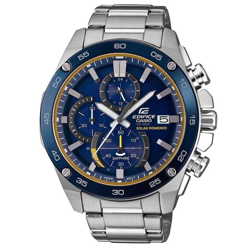 Casio EFS-S500DB-2AVUEF Edifice Solar Herren-Chronograph 4549526176357