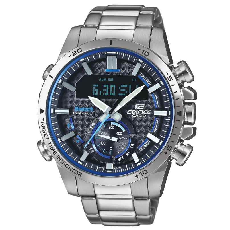 Casio ECB-800D-1AEF Edifice Men's Chronograph Solar Watch Bluetooth 4549526199769