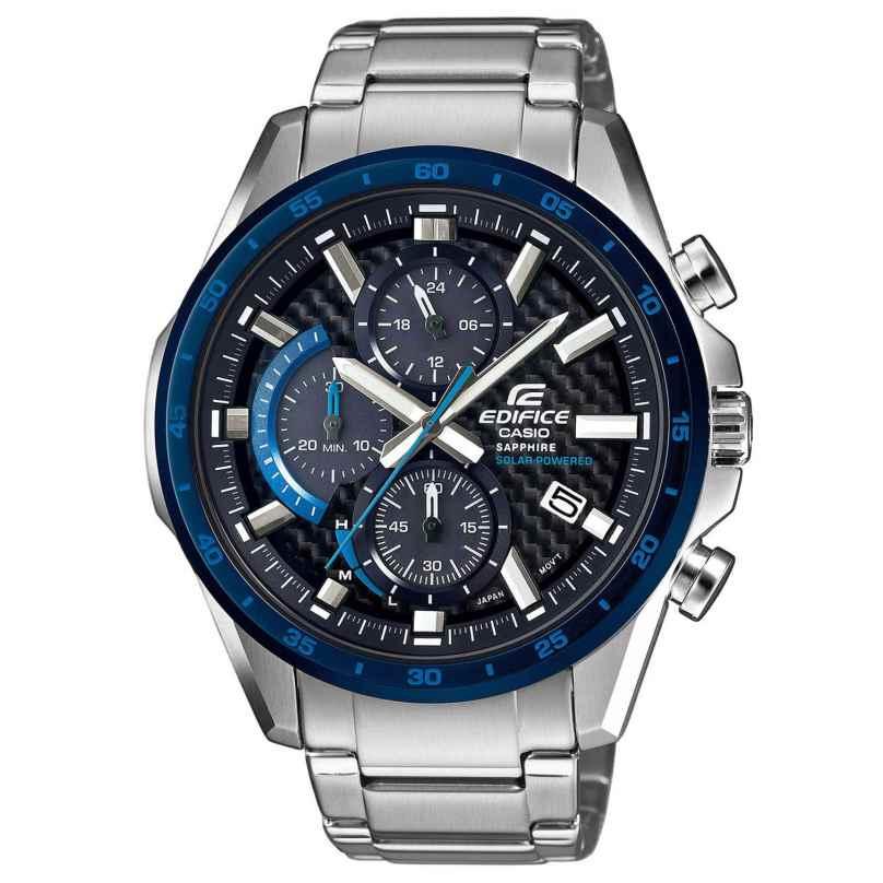 Casio EFS-S540DB-1BUEF Edifice Solar Chronograph Men´s Wristwatch 4549526202575