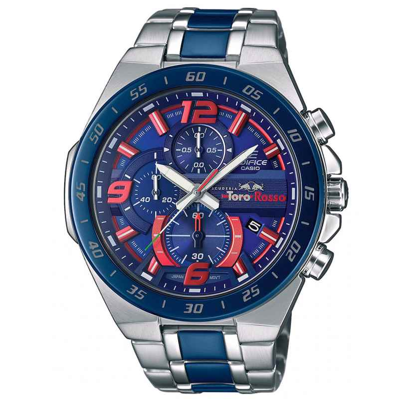 Casio EFR-564TR-2AER Edifice Scuderia Toro Rosso Herrenuhr Chronograph 4549526220562