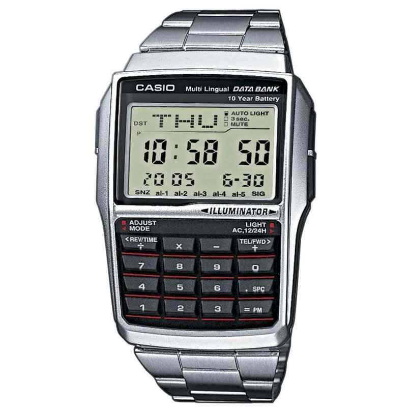 casio armbanduhr digitaluhr taschenrechner uhr kalkulator. Black Bedroom Furniture Sets. Home Design Ideas