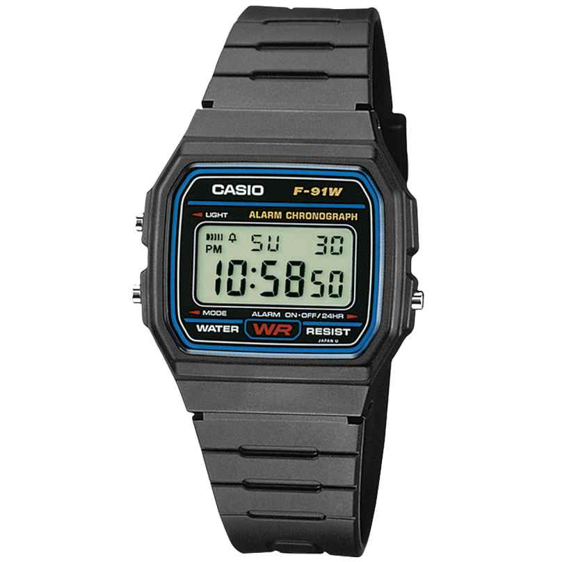 Casio F-91W-1YEF Digitaluhr 4971850809265