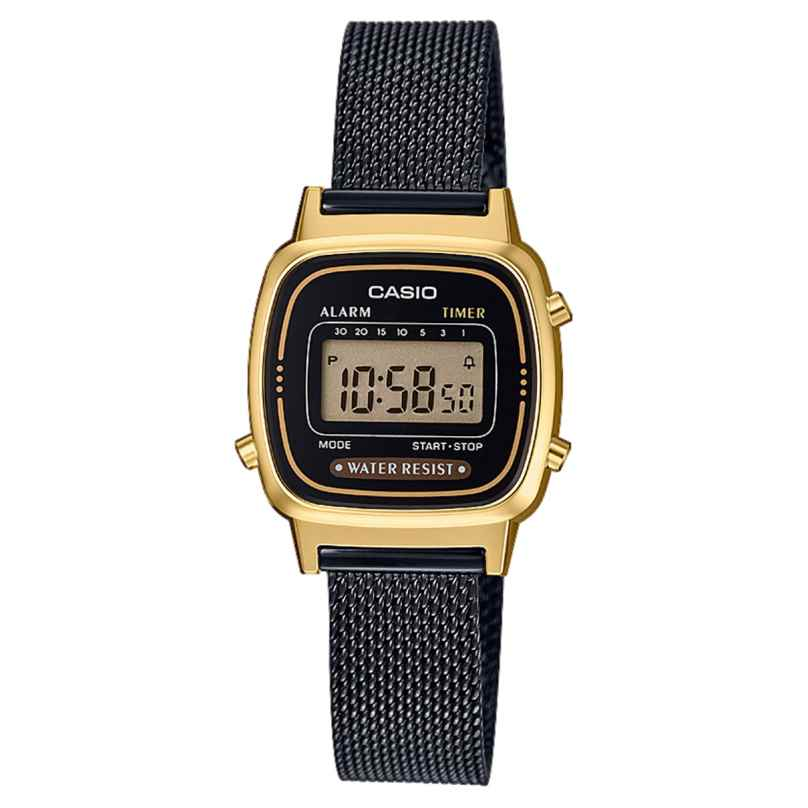 Casio LA670WEMB-1EF Retro Damen-Digitaluhr 4549526187841