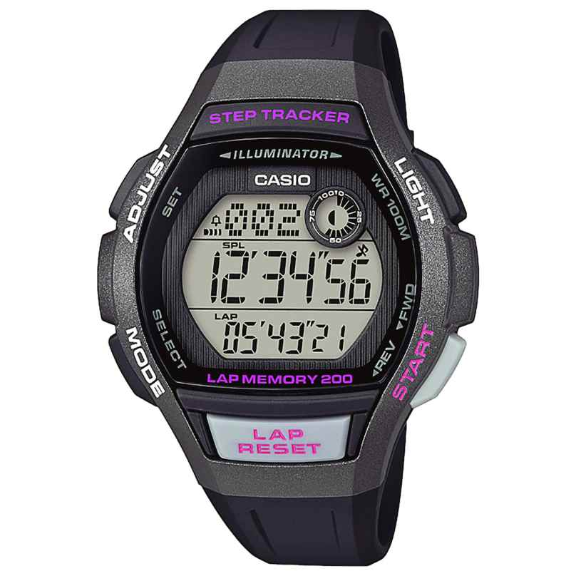 Casio LWS-2000H-1AVEF Damen Digitaluhr mit Schrittzähler 4549526214134