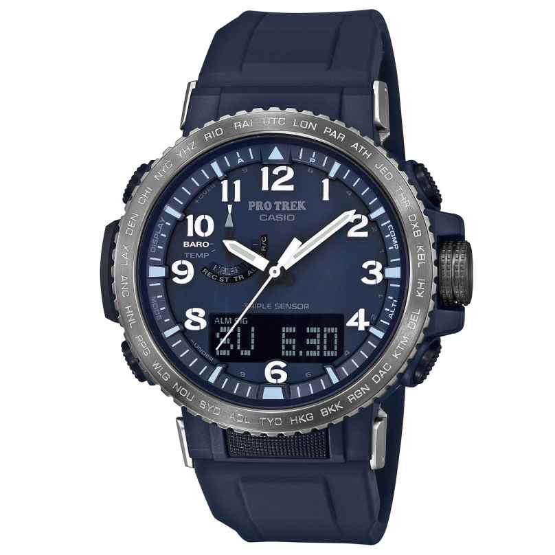 Casio PRW-50YFE-2AER Pro Trek Radio-Controlled Outdoor Watch + Extra Strap 4549526223679