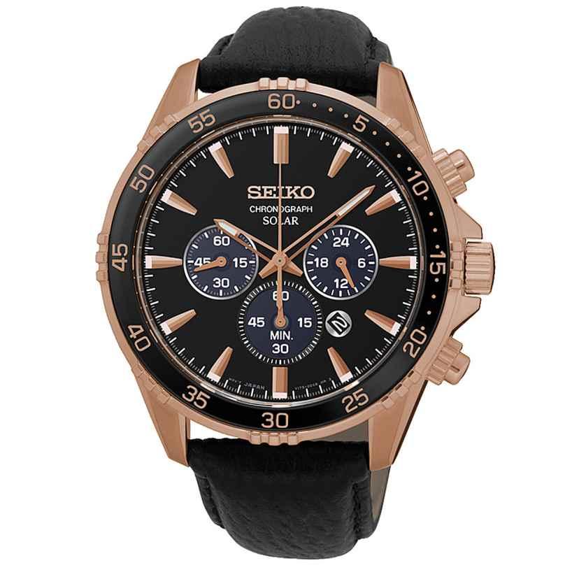 Seiko SSC448P1 Solar Herrenuhr Chronograph 4954628228956